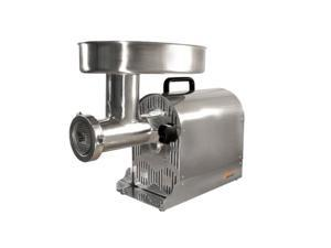 WestonSupply 08-2201-W Stainless steel #22 Professional Stainless Steel Electric Meat Grinder/Sausage Stuffer