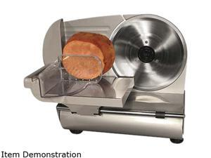 "WestonSupply 61-0901-W Stainless steel 9"" Meat Slicer (CE and GS Approved)"