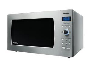 Panasonic 1250 Watts Luxury-Full Size  2.2 cu. ft.Microwave Oven NN-SD997S Sensor Cook Stainless Steel