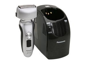 Panasonic 3-Blade Wet/Dry Shaver with Nanotech Blades, Arc Foil and Automatic Cleaning & Charging System ES-LT71-S