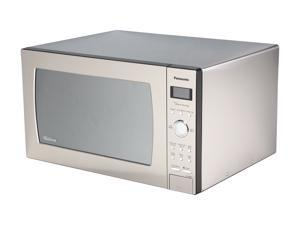 Panasonic NN-SE982S 2.2 cu. ft Genius Prestige Countertop Built-in Microwave Oven with Inverter Technology