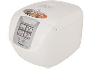Panasonic SR-DF181 White Microcomputer Controlled / Fuzzy Logic Rice Cooker with One Touch Cooking