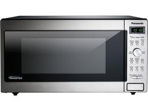 Panasonic 1250 Watts Countertop/Built-In Microwave with Inverter Technology, 1.6 cu. ft. , Stainless NN-SD745S Stainless Steel