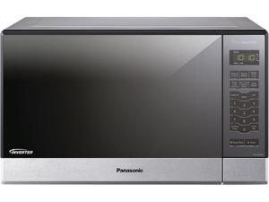 Panasonic 1200 Watts Stainless 1.2 Cu. Ft. Countertop Microwave Oven NN-SN686S Sensor Cook Silver