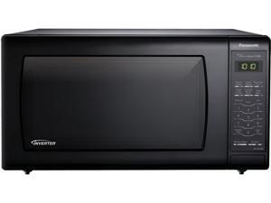 Panasonic 1250 Watts Black 1.6 Cu. Ft. Countertop Microwave Oven with Inverter Technology NN-SN736B
