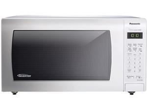 Panasonic 1.6 Cu. Ft. Countertop Microwave Oven with Inverter Technology - White NN-SN736W White