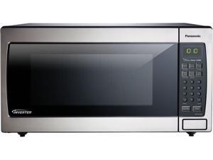 Panasonic 1250 Watts 1.6 Cu. Ft. Stainless Steel Microwave Oven NN-SN766S Silver