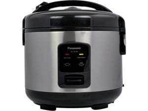 Panasonic SR-JN105B 5 Cups (uncooked) Automatic Rice Cooker,Stainless Steel / Black.