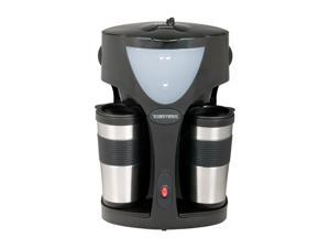 Toastess TFC-42T Silhouette Twin Coffee Maker