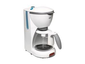 Braun KF510-WH White AromaDeluxe KF 510 Coffee Maker