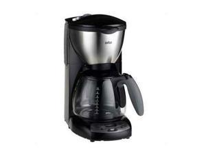Braun KF590 Black/Steel Impressions KF 590 E Coffee Maker