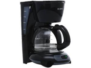 Mr. Coffee TF5 4-Cup Coffee Maker, Black