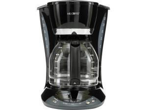 Mr. Coffee Simple Brew 12-Cup Programmable Coffee Maker Black, DWX23-RB