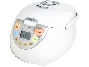 Rosewill RHRC-13002 White 10-Cup Fuzzy Logic Rice Cooker