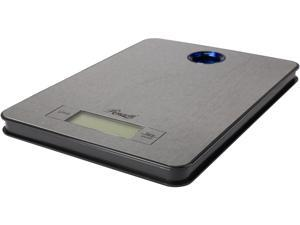 "Rosewill Electronic High Precision ""Strain Gauge"" Sensor Kitchen Scale, Silver"