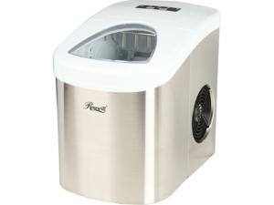Rosewill RHIM-15001 26.50 lbs. Portable Ice Maker - Stainless Steel