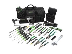 Greenlee 0159-11 Master Electrician's Tool Kit, 28 pc