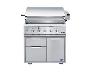 "DCS 36"" Natural Gas Grill BGB36-BQAR-N Stainless Steel"