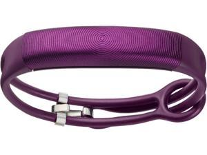 Jawbone UP2 Activity + Sleep Tracker Lightweight Thin Straps Orchid Circle (Purple)