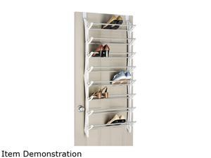 Whitmor 6486-1754-WHT OTD Shoe Rack 24 PAIR