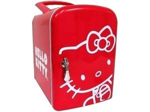 Sakar Hello Kitty Mini Fridge Red 76009