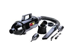METRO MDV-1BAC Data Vac Pro Portable Vacuum Cleaner Black