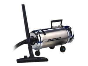 Metropolitan OV-4BCSF The Professionals Compact Canister Vacuums, Stainless Steel