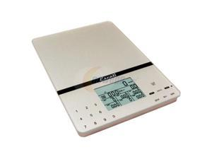 Escali 115NS Cesto Portable Scale Silver