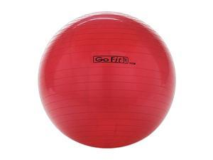 GoFit GF-55BALL Exercise Ball With Pump (55 Cm&#59; Red)
