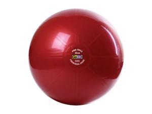 GoFit GF-65PRO Professional Stability Ball & Core Performance Training DVD (65 Cm&#59; Dark Purple)