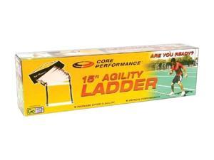 GoFit GF-LAD 15-Ft Agility Ladder With Core Performance DVD