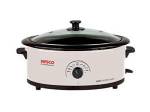 NESCO 481614G White 6qt Ivory Roaster Oven