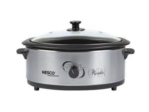 NESCO 4816-25-30PR Stainless Steel The Metal Ware Electric Oven