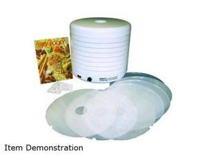 NESCO FD-1018P White 1000 W Gardenmaster Kit food Dehydrator