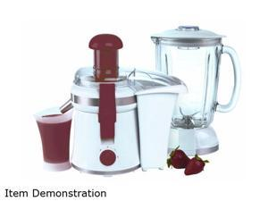NESCO JB-50P Red American Harvest 2 in 1 Juicer/Blender