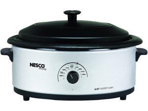 NESCO 4816-47 Silver 6 Qt. 6qt Roaster Oven