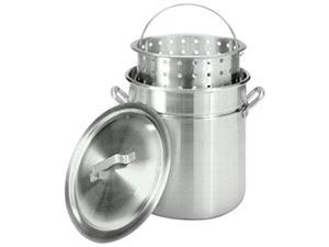 Barbour International 4042 Bayou Classic 42 Qt Aluminum Stockpot