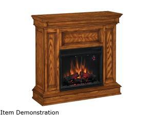 "ClassicFlame Phoenix 42"" Wide Corner Electric Fireplace (Oak) 23DM537-O107"