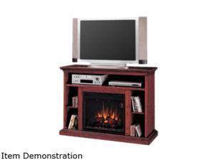 "ClassicFlame Beverly Collection 48"" Wide Media Mantel Electric Fireplace (Premium Cherry) 23MM374-C202"