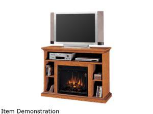 "ClassicFlame Beverly Collection 48"" Wide Media Mantel Electric Fireplace (Premium Oak) 23MM374-O107"