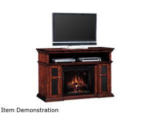 "ClassicFlame Pasadena Collection 60"" Wide Media Mantel Electric Fireplace (Walnut) 28MM468-W502"
