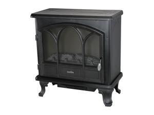 "Duraflame 25"" Black Freestanding Electric Stove with Remote Control - DFS-750-1"