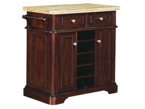 Tresanti KC2578-C270-36 Fontaine Kitchen Island Roasted Cherry