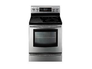 Samsung FE710DRS 5.9 cu.ft. Freestanding Flex Duo Oven with Radiant Electric Range
