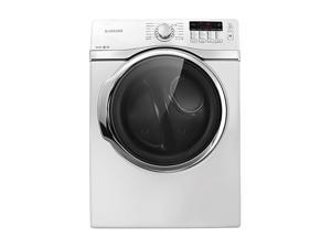 SAMSUNG DV405ETPAWR Neat White Electric Steam Dryer