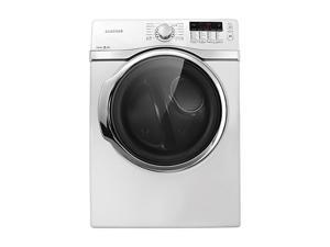 SAMSUNG DV405GTPAWR Neat White Gas Steam Dryer