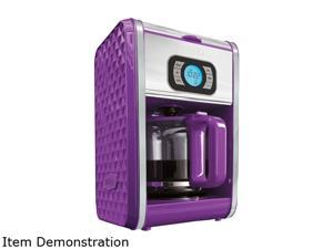 Bella 13926 Purple Diamonds 12-Cup Programmable Coffee Maker