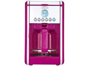 14159 Pink Linea 12 Cup Programmable Coffee Maker - Pink