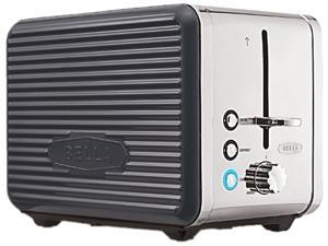 Bella Linea Collection 14177 2-Slice Toaster,Grey