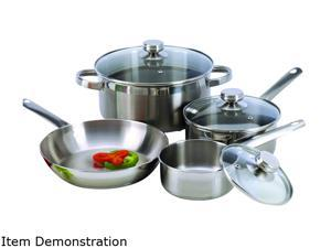 Cookpro PRO503 Cookware Set 7 Pieces Encapsulated Base Stainless steel